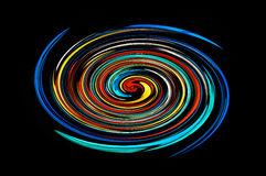 Espiral colorido Fotos de archivo