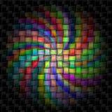 Espiral colorido Imagen de archivo libre de regalías