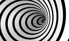 Espiral combado Fotografía de archivo libre de regalías