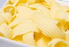 Espiral cortada manteiga Foto de Stock