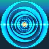 Espiral da energia Fotografia de Stock Royalty Free