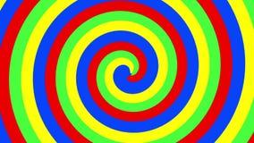 Espiral das cores ilustração do vetor