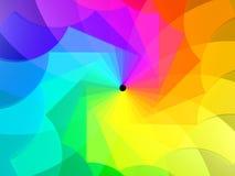 Espiral de colores Imagen de archivo libre de regalías
