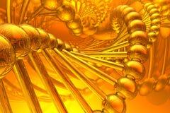 Espiral de la DNA Imagenes de archivo