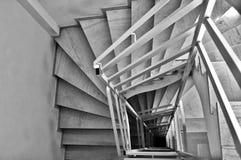 Espiral de la escalera Imagen de archivo