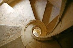 Espiral de la escalera imágenes de archivo libres de regalías