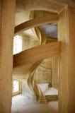 Espiral de la escalera imagenes de archivo