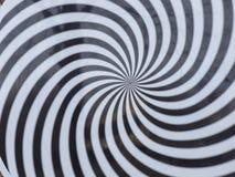 Espiral de la hipnosis Imagen de archivo libre de regalías