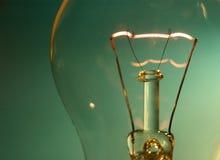 Espiral de la lámpara del tungsteno fotos de archivo libres de regalías