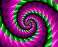 Espiral de la primavera stock de ilustración