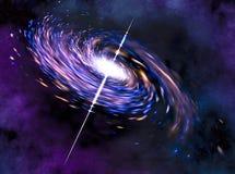 Espiral de las estrellas Fotografía de archivo libre de regalías
