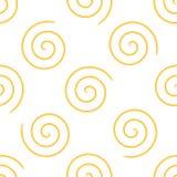 Espiral de las pastas imagen de archivo