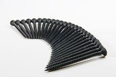Espiral de los tornillos fotos de archivo