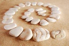 Espiral de piedra Fotos de archivo libres de regalías