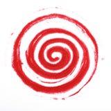 Espiral de Sandy Imágenes de archivo libres de regalías