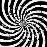 Espiral del fondo Imagen de archivo libre de regalías