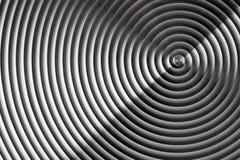Espiral del metal Imagen de archivo libre de regalías