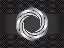 Espiral del metal Foto de archivo libre de regalías
