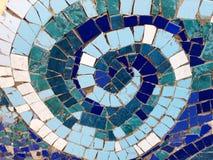 Espiral del mosaico imagen de archivo libre de regalías