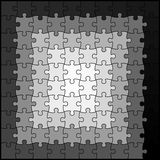 Espiral del rompecabezas Foto de archivo libre de regalías