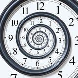Espiral del tiempo Imagen de archivo libre de regalías