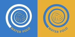 Espiral del water polo Foto de archivo