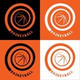 Espiral do basquetebol Fotos de Stock Royalty Free