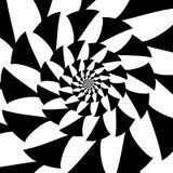 Espiral do vetor no fundo branco Efeito da hipnose, teste padrão abstrato fotos de stock royalty free