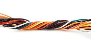 Espiral elétrica do fio Imagens de Stock
