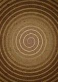 Espiral en el papel Foto de archivo libre de regalías