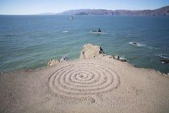 Espiral en la bahía Fotos de archivo