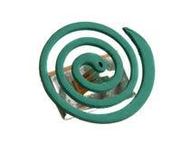 Espiral en un fondo blanco Fotos de archivo libres de regalías
