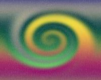 Espiral feliz de la energía del fondo abstracto imagenes de archivo