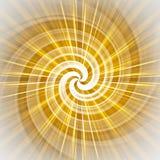 Espiral futurista Fotografia de Stock