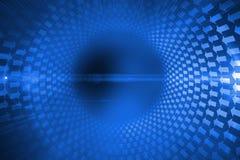 Espiral futurista de la flecha Imágenes de archivo libres de regalías