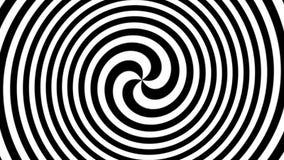 Espiral hipnótica ilustração royalty free