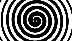 Espiral hipnótica ilustração do vetor