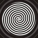 Espiral hipnótico Imagen de archivo libre de regalías