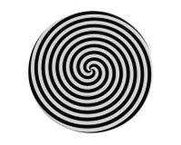 Espiral hipnótico Fotografía de archivo