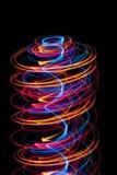 Espiral ligero Fotos de archivo libres de regalías