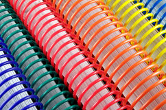 Espiral - livros encadernados Imagens de Stock