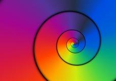 Espiral metálico Imágenes de archivo libres de regalías