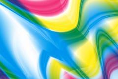Espiral multicolor abstracto del caleidoscopio del centro Fotos de archivo libres de regalías
