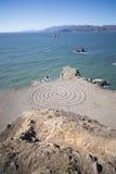 Espiral na baía Fotografia de Stock