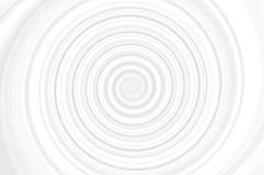 Espiral preto e branco Imagens de Stock