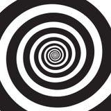 Espiral psicodélico ilustración del vector
