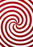 Espiral rojo Imagen de archivo libre de regalías