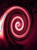 Espiral rojo. Foto de archivo
