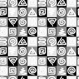Espiral sem emenda da textura ilustração stock