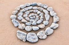 Espiral texturizado Fotografía de archivo libre de regalías